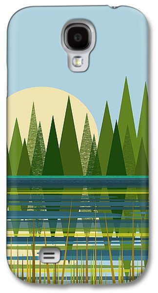 Beaver Pond - Vertical Galaxy S4 Case