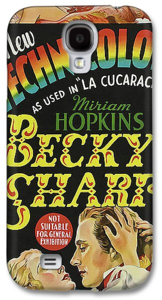 Becky Sharp 1935 Galaxy S4 Case by R K O