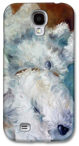 Bed Hog Galaxy S4 Case by Mary Sparrow