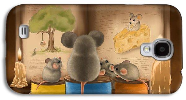 Bedtime Story Galaxy S4 Case by Veronica Minozzi