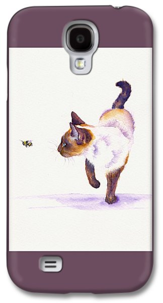 Bee Free Galaxy S4 Case by Debra Hall