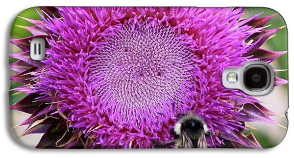 Bee On Thistle Galaxy S4 Case