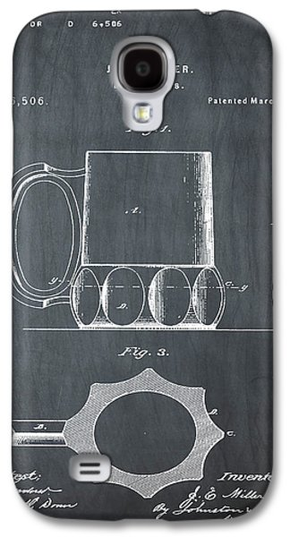 Beer Mug 1873 In Chalk Galaxy S4 Case by Bill Cannon