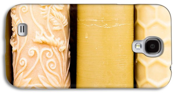 Beeswax Candles Galaxy S4 Case by Tom Gowanlock