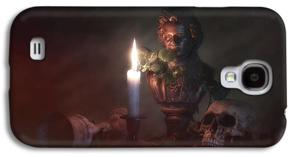 Beethoven By Candlelight Galaxy S4 Case by Tom Mc Nemar