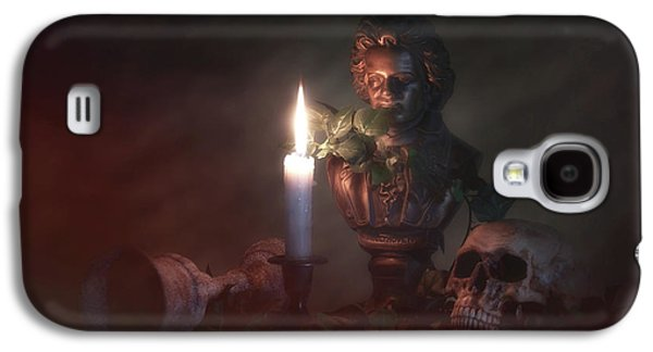 Beethoven By Candlelight Galaxy S4 Case