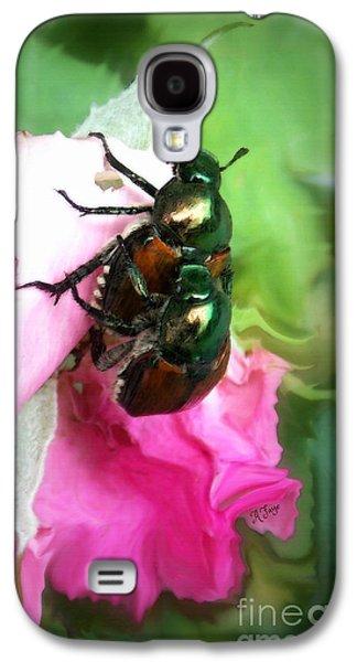 Beetle Invasion Galaxy S4 Case by Anita Faye