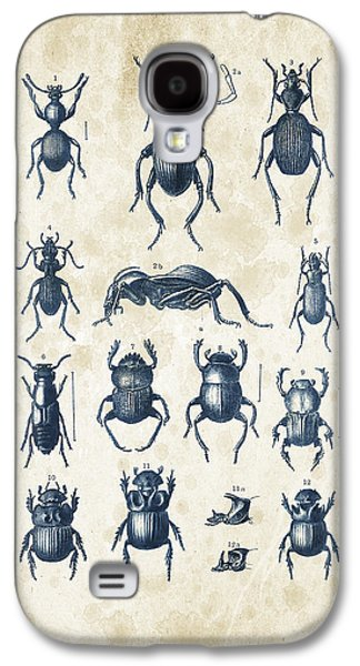 Beetles - 1897 - 01 Galaxy S4 Case by Aged Pixel