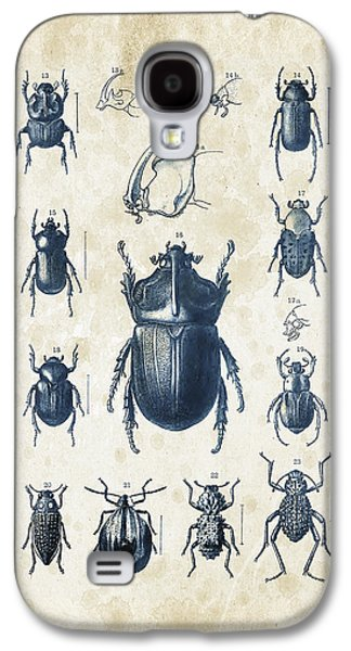Beetles - 1897 - 02 Galaxy S4 Case by Aged Pixel