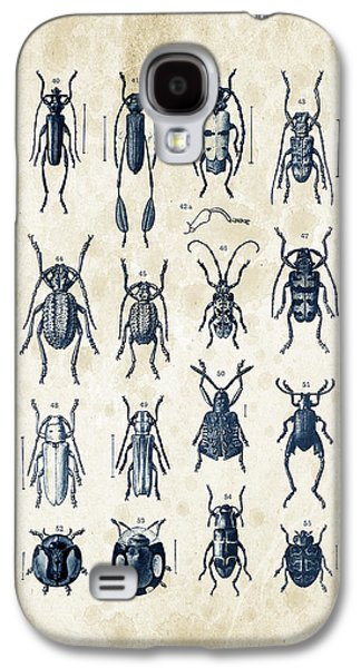 Beetles - 1897 - 04 Galaxy S4 Case by Aged Pixel