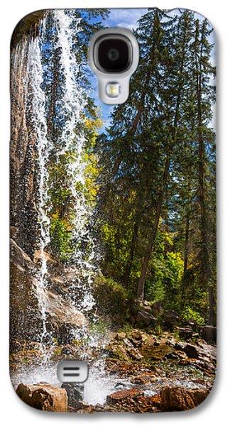 Behind Spouting Rock Waterfall - Hanging Lake - Glenwood Canyon Colorado Galaxy S4 Case by Brian Harig