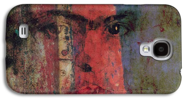 Behind The Painted Smile Galaxy S4 Case by Paul Lovering