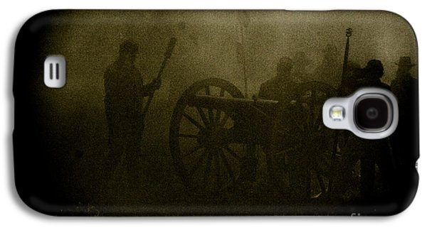 Historical Re-enactments Galaxy S4 Cases - Behind the Smoke Galaxy S4 Case by Kim Henderson