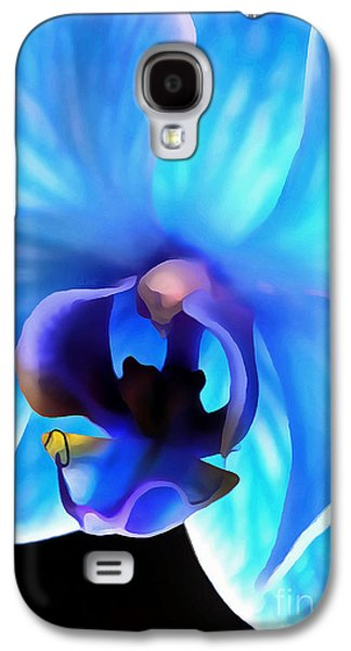 Believe In Blue Galaxy S4 Case by Krissy Katsimbras