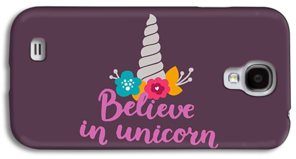 Believe In Unicorn Galaxy S4 Case by Edward Fielding