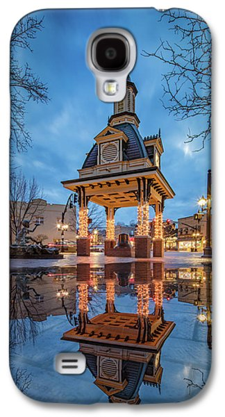 Bell Tower  In Beaver  Galaxy S4 Case by Emmanuel Panagiotakis