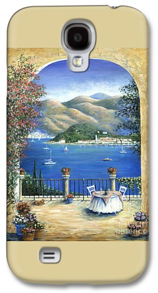 Bellagio Lake Como From The Terrace Galaxy S4 Case by Marilyn Dunlap