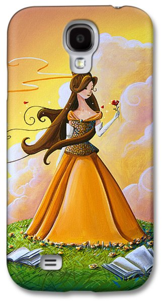 Belle Galaxy S4 Case by Cindy Thornton