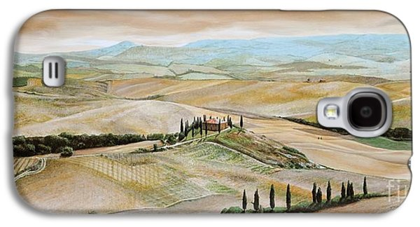Belvedere - Tuscany Galaxy S4 Case by Trevor Neal
