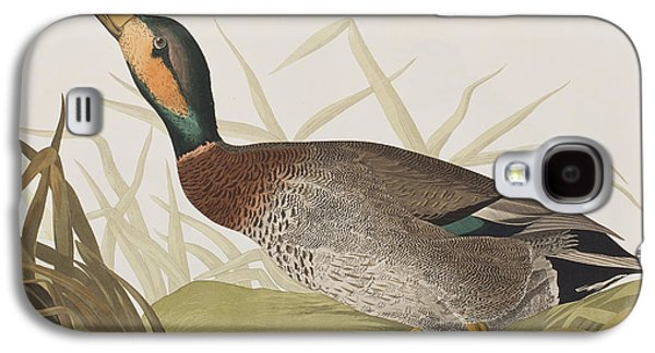 Bemaculated Duck Galaxy S4 Case by John James Audubon