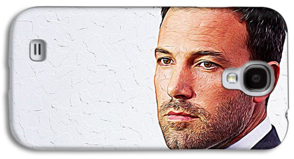 Ben Affleck Galaxy S4 Case by Iguanna Espinosa