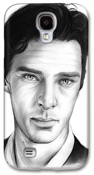 Benedict Cumberbatch Galaxy S4 Case by Greg Joens