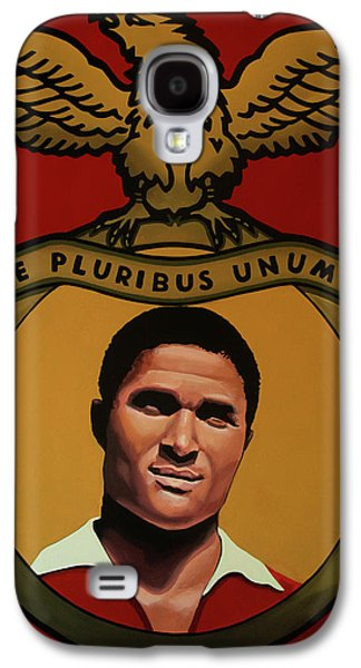 Benfica Lisbon Painting Galaxy S4 Case by Paul Meijering