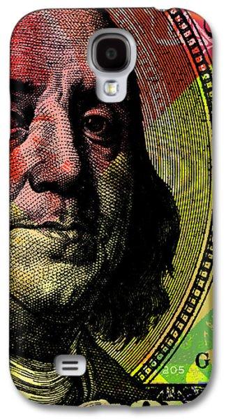 Benjamin Franklin - $100 Bill Galaxy S4 Case by Jean luc Comperat