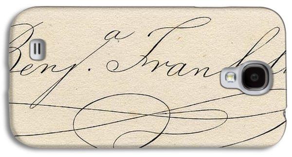 Benjamin Franklin, 1706-1790 Galaxy S4 Case by Vintage Design Pics