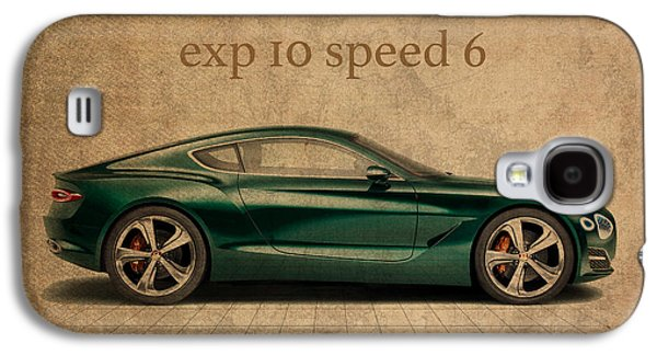 Bentley Exp 10 Speed 6 Vintage Concept Art Galaxy S4 Case by Design Turnpike