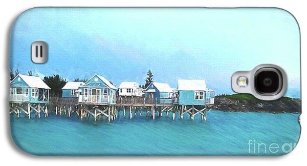 Bermuda Coastal Cabins Galaxy S4 Case