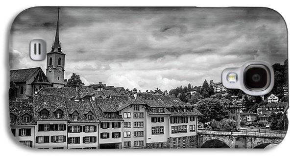 Bern Switzerland In Black And White  Galaxy S4 Case