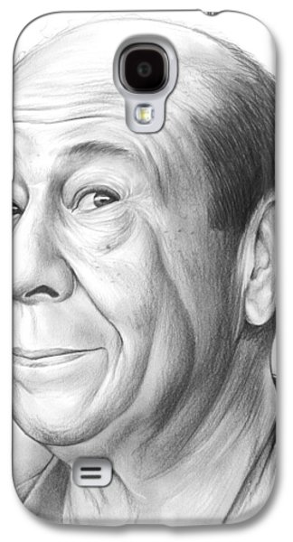 Wizard Galaxy S4 Case - Bert Lahr by Greg Joens