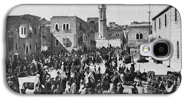 Bethlehem 1925 Galaxy S4 Case by Munir Alawi