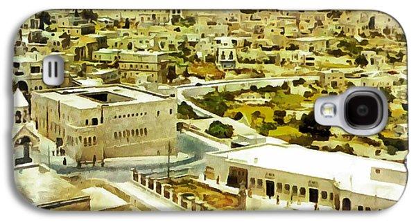 Bethlehem In 1960 Galaxy S4 Case by Munir Alawi