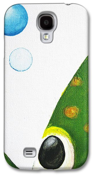 Betta Bubble Galaxy S4 Case by Oiyee At Oystudio