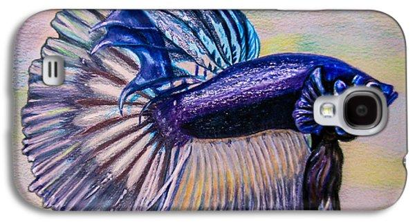 Betta Fish Galaxy S4 Case by Zina Stromberg