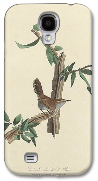 Bewick's Long-tailed Wren Galaxy S4 Case by Rob Dreyer