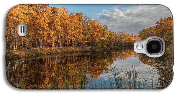 Beyer's Pond In Autumn Galaxy S4 Case