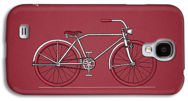 Bicycle Galaxy S4 Case - Bicycle 1935 by Mark Rogan