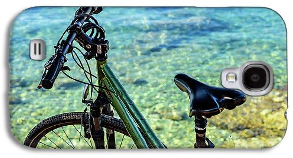 Bicycle By The Adriatic, Rovinj, Istria, Croatia Galaxy S4 Case