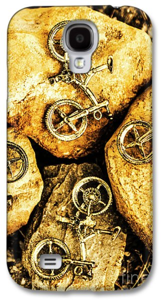 Bicycle Obstacle Course Galaxy S4 Case by Jorgo Photography - Wall Art Gallery
