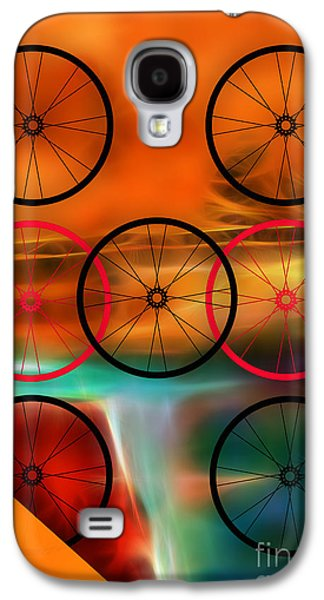Bicycle Wheel Collection Galaxy S4 Case