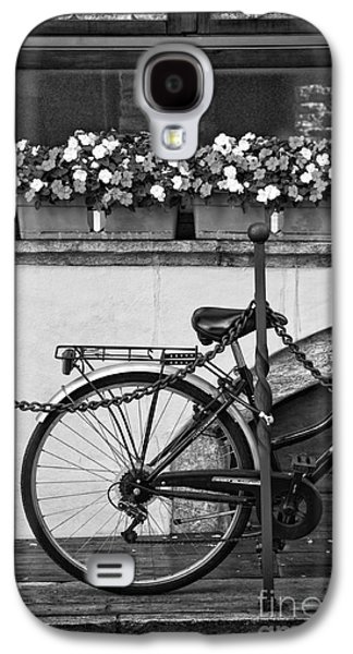 Bicycle With Flowers Galaxy S4 Case