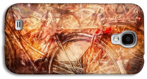 Bicycles In Amsterdam Galaxy S4 Case