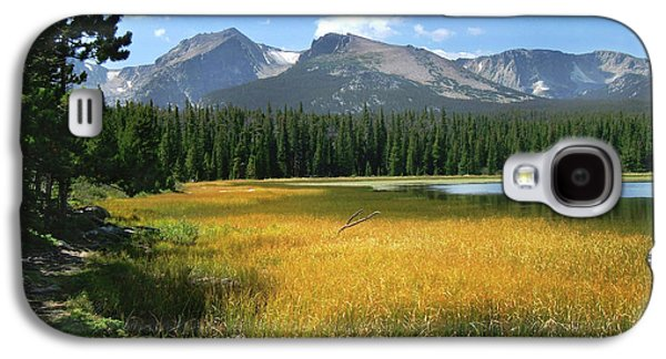 Galaxy S4 Case featuring the photograph Autumn At Bierstadt Lake by David Chandler