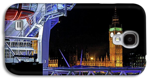 Big Ben And Houses Of Parliament  Galaxy S4 Case by Omran Husain