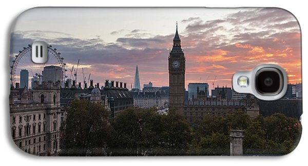 Big Ben London Sunrise Galaxy S4 Case by Mike Reid