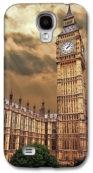 Big Ben's House Galaxy S4 Case by Meirion Matthias
