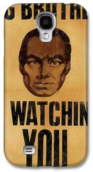 Big Brother Is Watching You Galaxy S4 Case by Dan Sproul